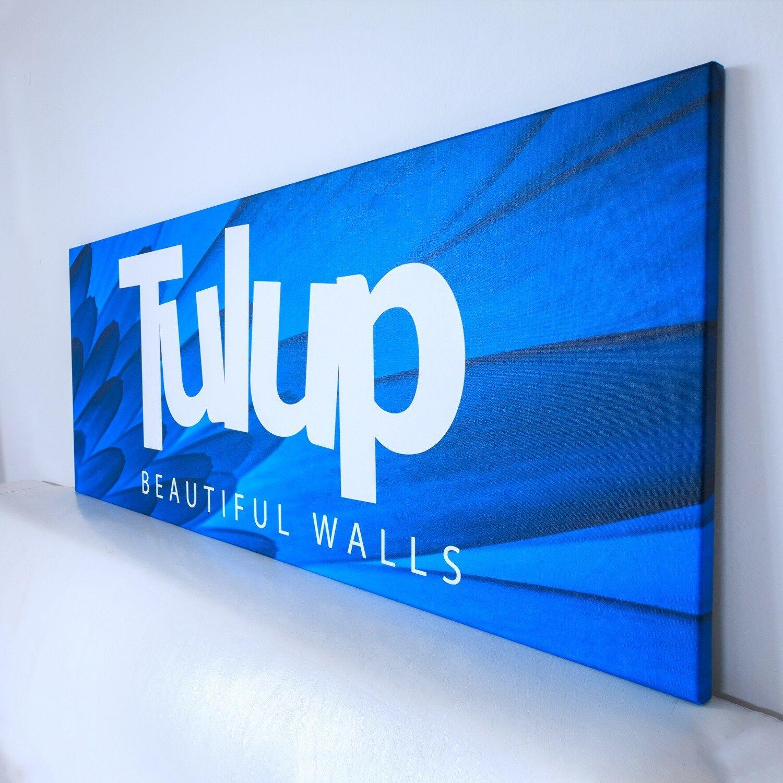 Photo Tulipes sur toile Image Tableau Impression 140x70 Nature Tulipes Photo 1e78a6