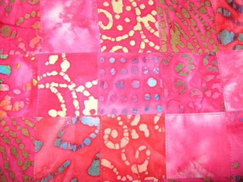 NEW Batik Pink Blue Green Yellow Halterneck Crop Hippy Boho Festival Party Top
