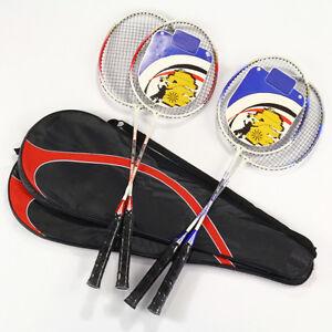 Economic Fad high-strength Aluminium Alloy Badminton Racket Racquet Bag THI
