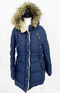 Lauren ralph Lauren Womens Down Hooded Jacket Puffer Blue ...