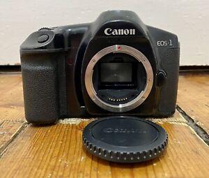 Canon EOS 1 35mm SLR Film Kamera Body nur Gebrauchsfähig guter Zustand