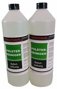 Polsterreiniger Geruchentferner Desinfektion In Eins 2 X 1 Liter