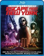 ESCAPE FROM NEW YORK New Sealed Blu-ray Collector's Edition Kurt Russell