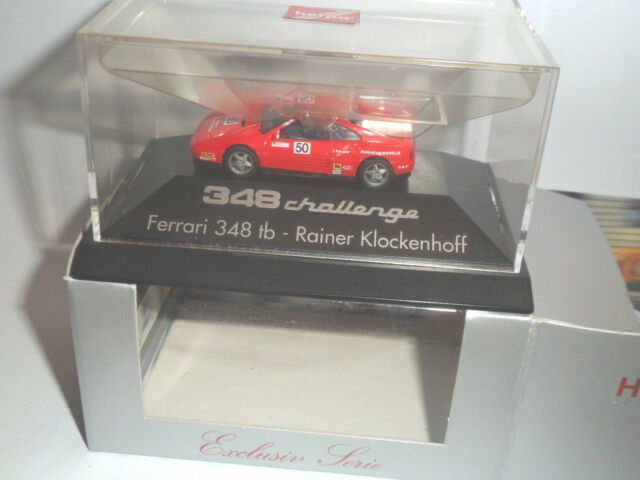 Herpa 1:87 181341 Ferrari 348 tb  Rainer Klockenhoff Nr.50  OVP Rarität