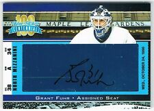 2017 President's Choice Blue and White Centennial ASSIGNED SEAT AUTO GRANT FUHR