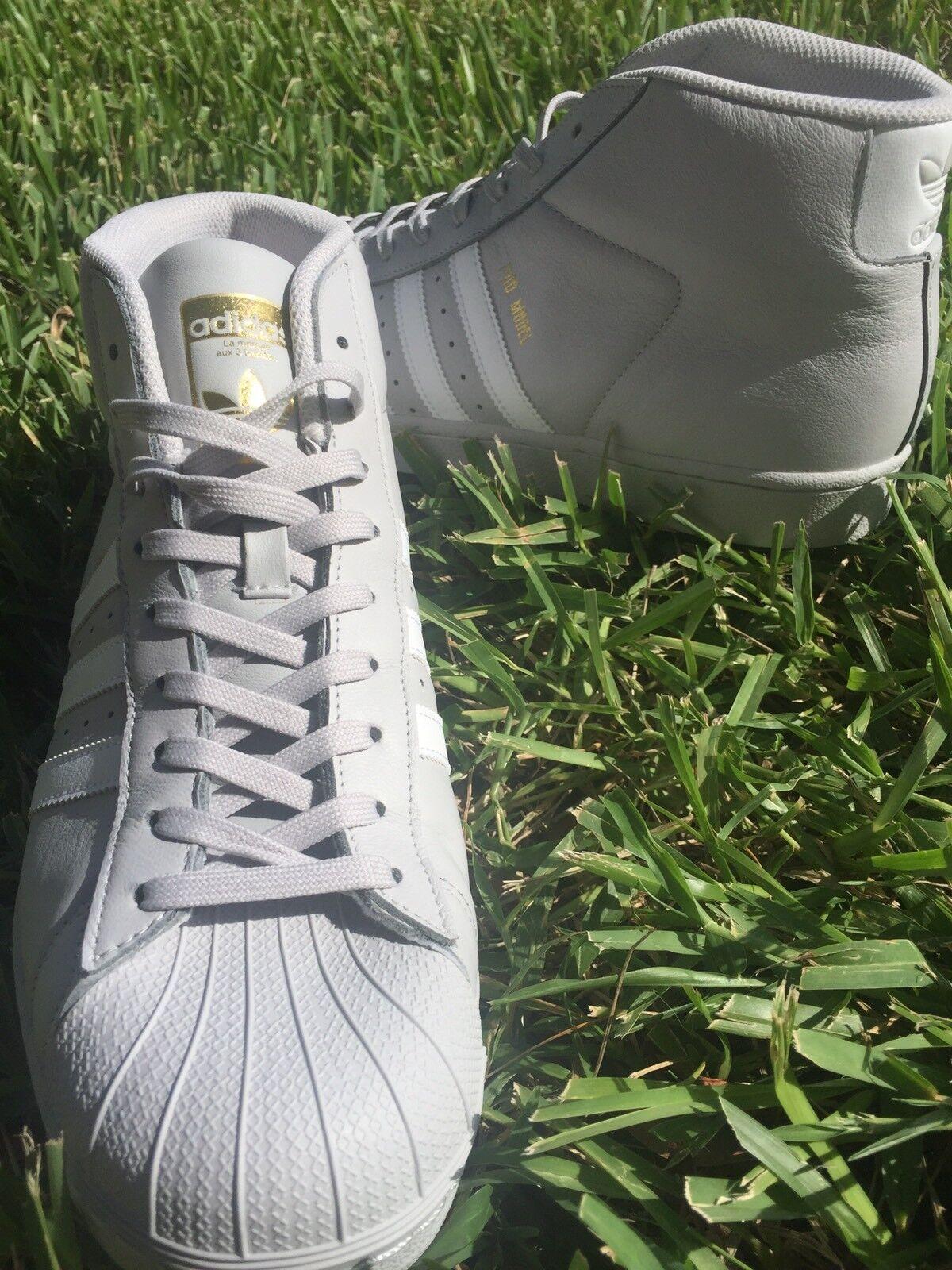 Hombre Adidas Pro Model Gris comodo baratos zapatos de mujer de zapatos de mujer mujer f0e9f1