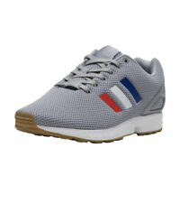 buy online bb0f6 a2958 adidas Originals Zx Flux Grey   Red   White   Blue Casual Shoes Sz 10 BB2768