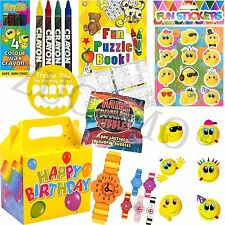 Kids Pre Filled Childrens Girls Party Bags Boxes For Birthday Gifts V18
