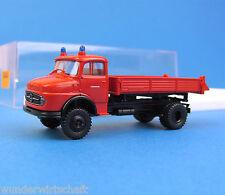 Brekina H0 4711 MB L 322 Kipper LKW Feuerwehr Mercedes Benz HO 1:87 OVP