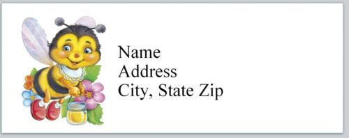 bx 700 Personalized Address Labels Cute Bee Honey Pot Buy 3 get 1 free