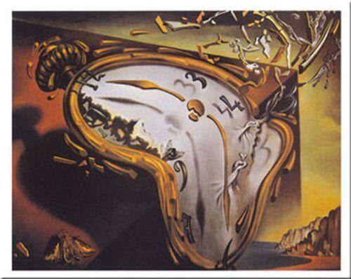 Les Montres Molles by Salvador Dali 20x16 Museum Art Print Soft Watches