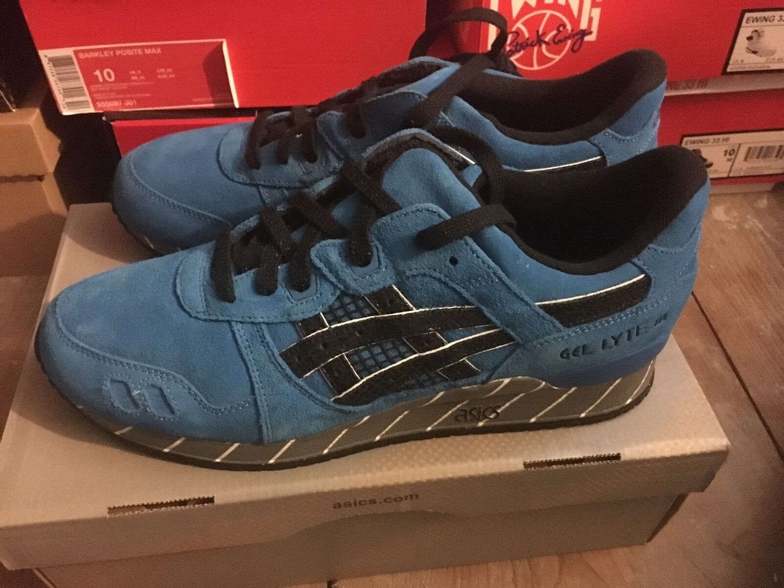Asics mantequilla Gel Lyte III X mantequilla Asics extra Copperhead Cottonmouth Kill Bill SZ 10 4a5517