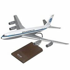 Pan American Am Boeing 707-320 Desk Display Jet Model 1/100 Aircraft ES Airplane