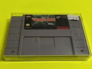 🔥💯 WORKING SUPER NINTENDO SNES GAME CARTRIDGE🔥 DISNEY - THE JUNGLE BOOK 🔥