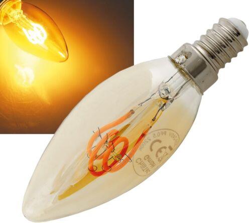 LED E14 2W Glühbirnen Filament Nostalgie Kerze Retro Vintage Kerzenlampe 22977
