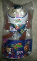 Tazmanian Devil Space Jam Mcdonalds Stuffed Animal Taz 1996 Wb Toy Nip