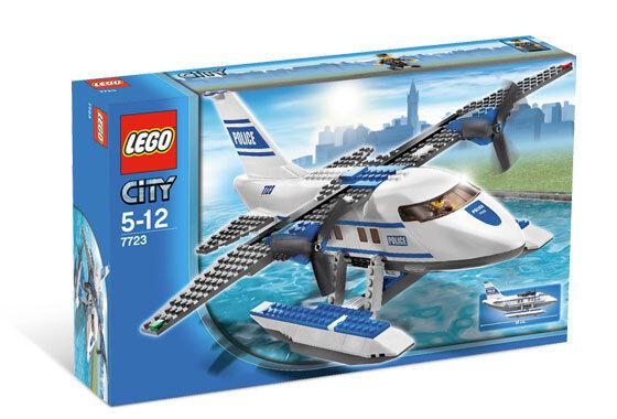 LEGO LEGO LEGO City Police Pontoon Plane ()(Retired 2008)(Very Rare)(NEW) 355652