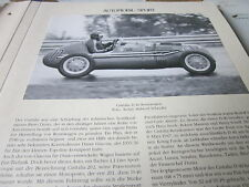 Internationales Automobil Archiv 2 Sport 2071 Cisitalia D 46 Rennwagen