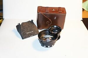 Rare-Rolleiflex-Bay-II-Rollei-Mutar-1-5X-with-hood-and-case-for-3-5F-3-5E-etc