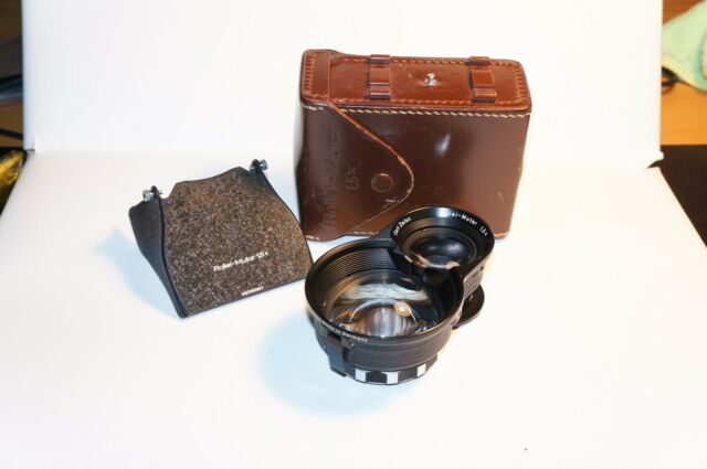 Rare Rolleiflex Bay II Rollei Mutar 1.5X with hood and case for 3.5F, 3.5E etc