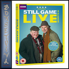 STILL GAME - LIVE IN GLASGOW  - COMPLETE 2014 LIVE SHOW **BRAND NEW DVD ****