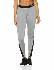 09d0b07fabcf6c NEW! Gray/Black [S] Nike Womens Pro Hyperwarm Fitted Compression ...