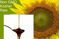 Raw Liquid Sunflower Lecithin Non Gmo Muscle Brain Tonic No Chemical Pesticides