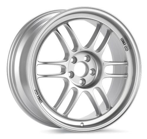 1 17x9 Enkei RPF1 5x114.3 35 Silver Wheel