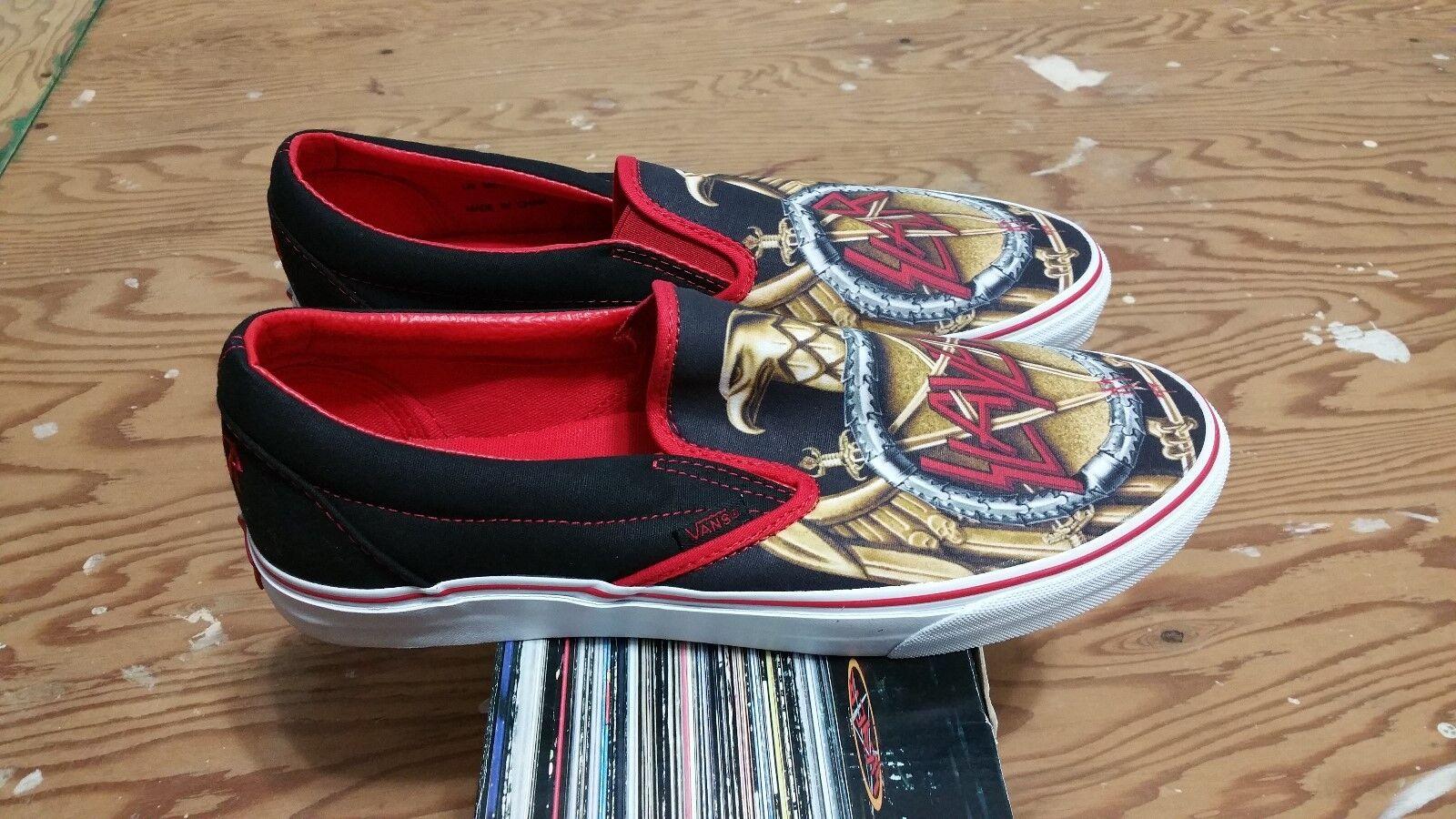 Vans X Slayer Slip-On Size 11 iron maiden supreme wtaps syndicate mastodon