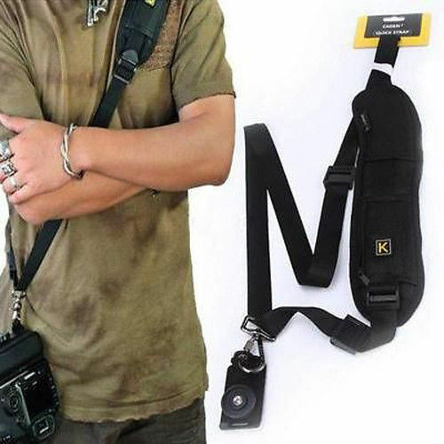 Single Shoulder Sling Strap for Nikon D7100 D7000 D5300 D5200 D3300 D3200 D4