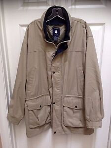 Roundtree-amp-Yorke-Outdoors-Medium-Men-039-s-Tan-Jacket
