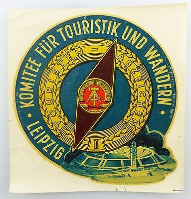 SchöN #e5948 Abziehbild 021690 Spezial-lackschiebebild Komitee Für Touristik 1960 Blut NäHren Und Geist Einstellen Sammeln & Seltenes