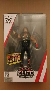 WWE ELITE COLLECTION AJ STYLES ACTION FIGURE  SERIES 61 W// ENTRANCE GEAR *NEW*