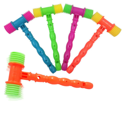 Funny Baby Vocal Knocking Hammer Infant Whistles Musical Instrument Toy Gift