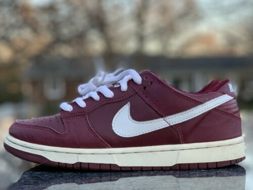 Nike Dunk Low Pro B 3M Team Red White '01 Size 7.5