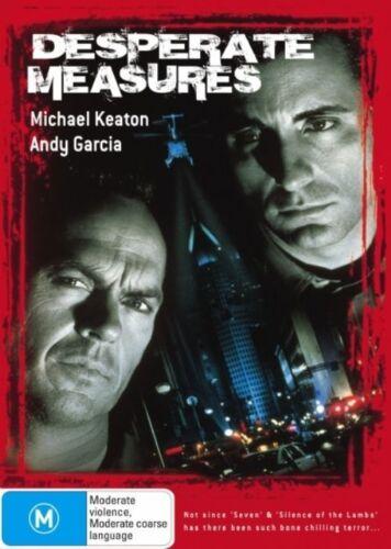 1 of 1 - DESPERATE MEASURES Michael Keaton DVD R4 NEW - PAL