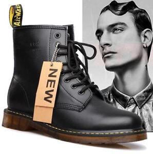 7b26597eaf Mens Retro Lace Up Round Toe Boots Military Desert High Top Gothic ...