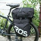 ROSWHEEL 3 in 1 Road MTB Mountain Bag Bicycle Pannier Rear Seat Trunk Bag T0Z8