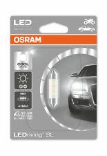 0.5W C5W LED LAMP BY OSRAM 1 PIECE 41MM.,6441CW-01B 6000K SV8.5-8 12V