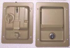 4 Single Locking door latches handles for Military M998 HUMVEE h1 unpainted