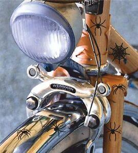 Vélo autocollant set araignée toile shocker des autocollants tuning sticker  </span>
