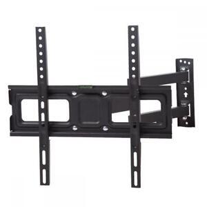 NEW-Long-Arm-Full-Motion-TV-Wall-Mount-Tilt-Swivel-Bracket-Fits-32-50-034-50B