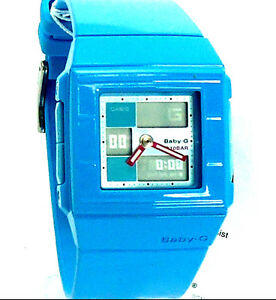 CASIO-LADY-BABY-G-SQUARE-ANA-DIG-BLUE-BAND-BGA200-2-100-BRAND-NEW-ORIGINAL-BOX