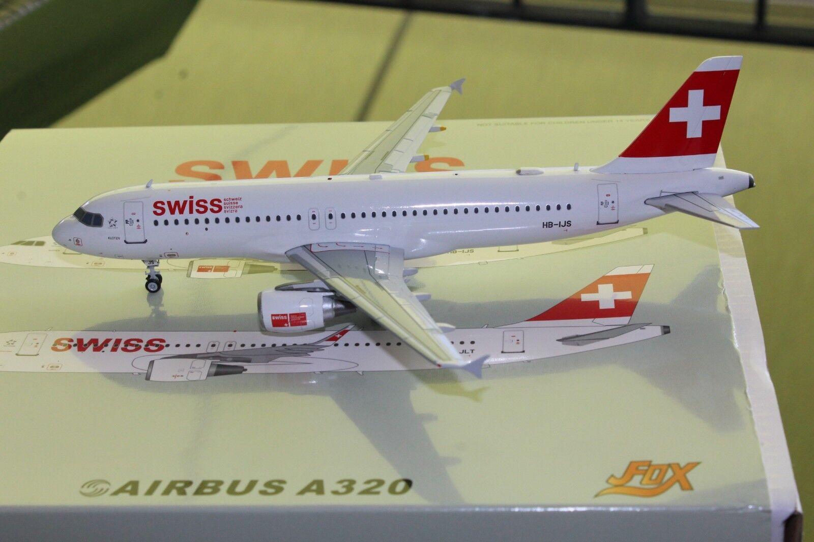 Swiss A320-200 (HB-IJS) 1 200, JFox MODELS MODELS MODELS a62d7b
