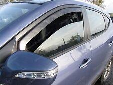 NISSAN QASHQAI 2007-2013 Wind Deflectors - Rain Shields 2 Pcs FRONT SET (17030)