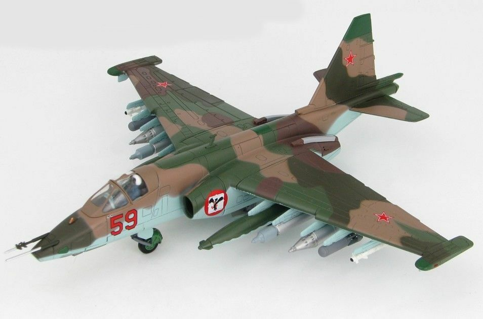 Hobby Master HA6103 - Sukhoi Su-25 Frogfoot, Red 59, Russian AF,  Afghanistan