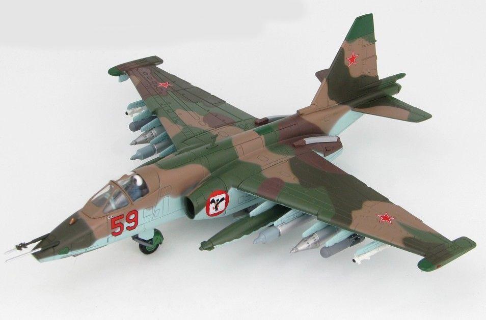 Hobby Master HA6103-Sukhoi Su-25 Frogfoot, rosso 59, ruso AF, Afganistán