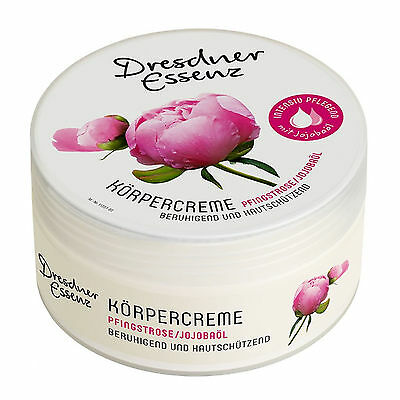 Körpercreme Wellness Creme Pfingstrose - extra sensitiv 200 ml Dresdner Essenz