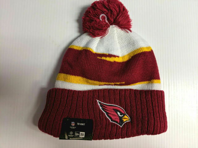 cheap pick up in stock Arizona Cardinals New Era Knit Hat On Field 2018 Thanksgiving ...