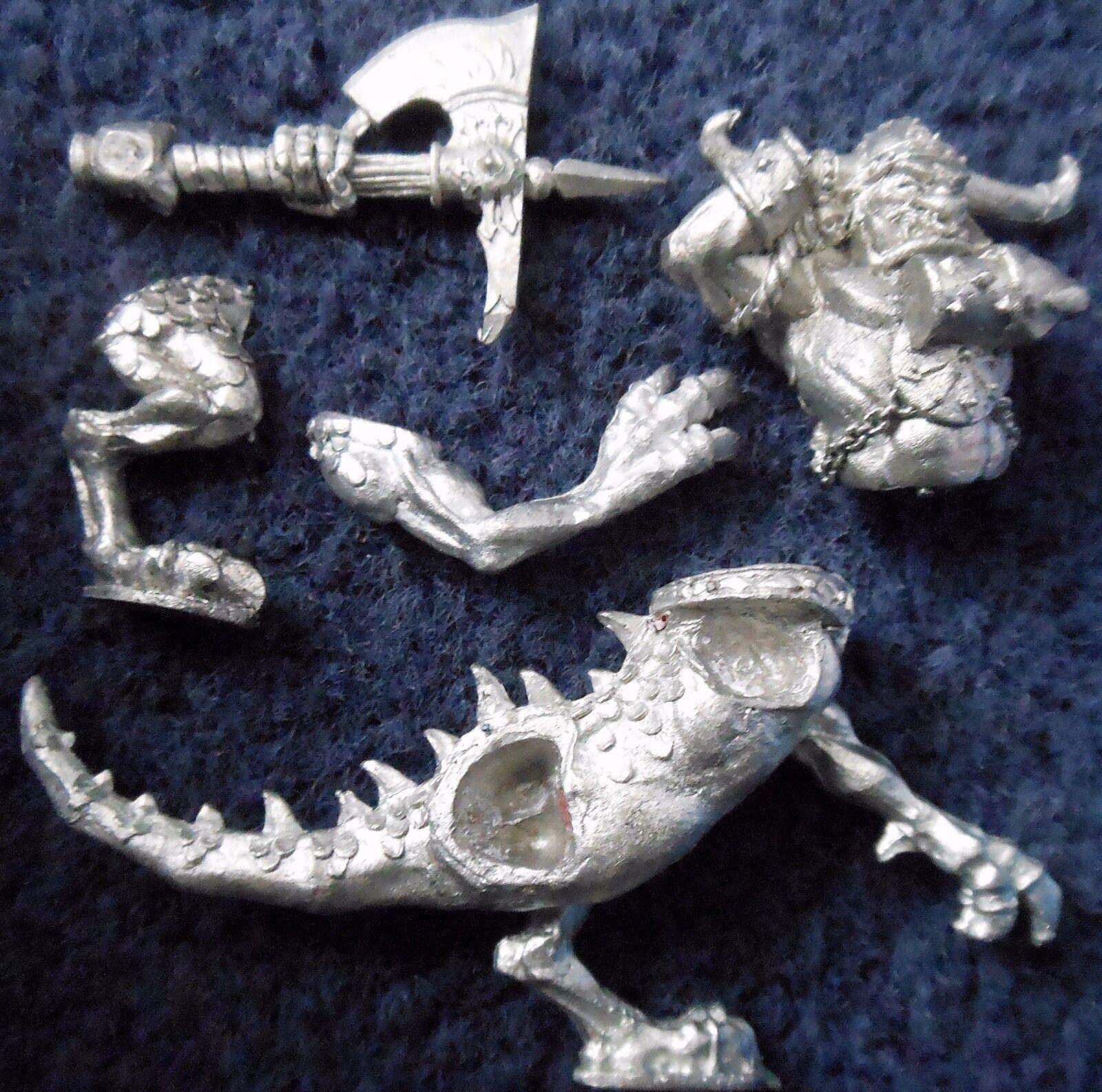 1994 Chaos Dragon Ogre C2 Games Workshop Citadel Warhammer Army Army Army Ogor Cavalry GW e1639b